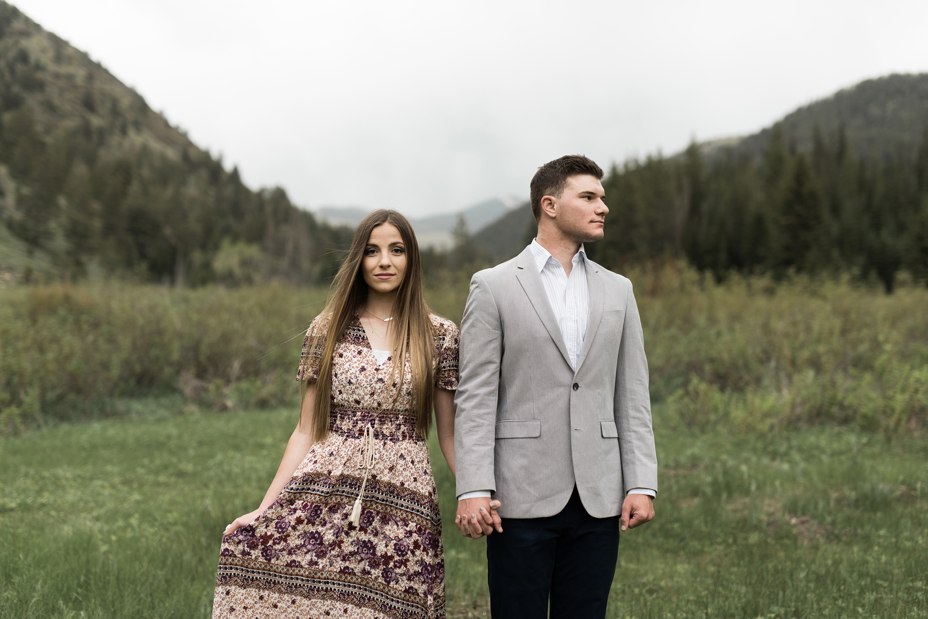 creative utah engagement photography