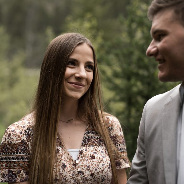 Natalie and Tyler's Engagement in Big Cottonwood Canyon, Utah