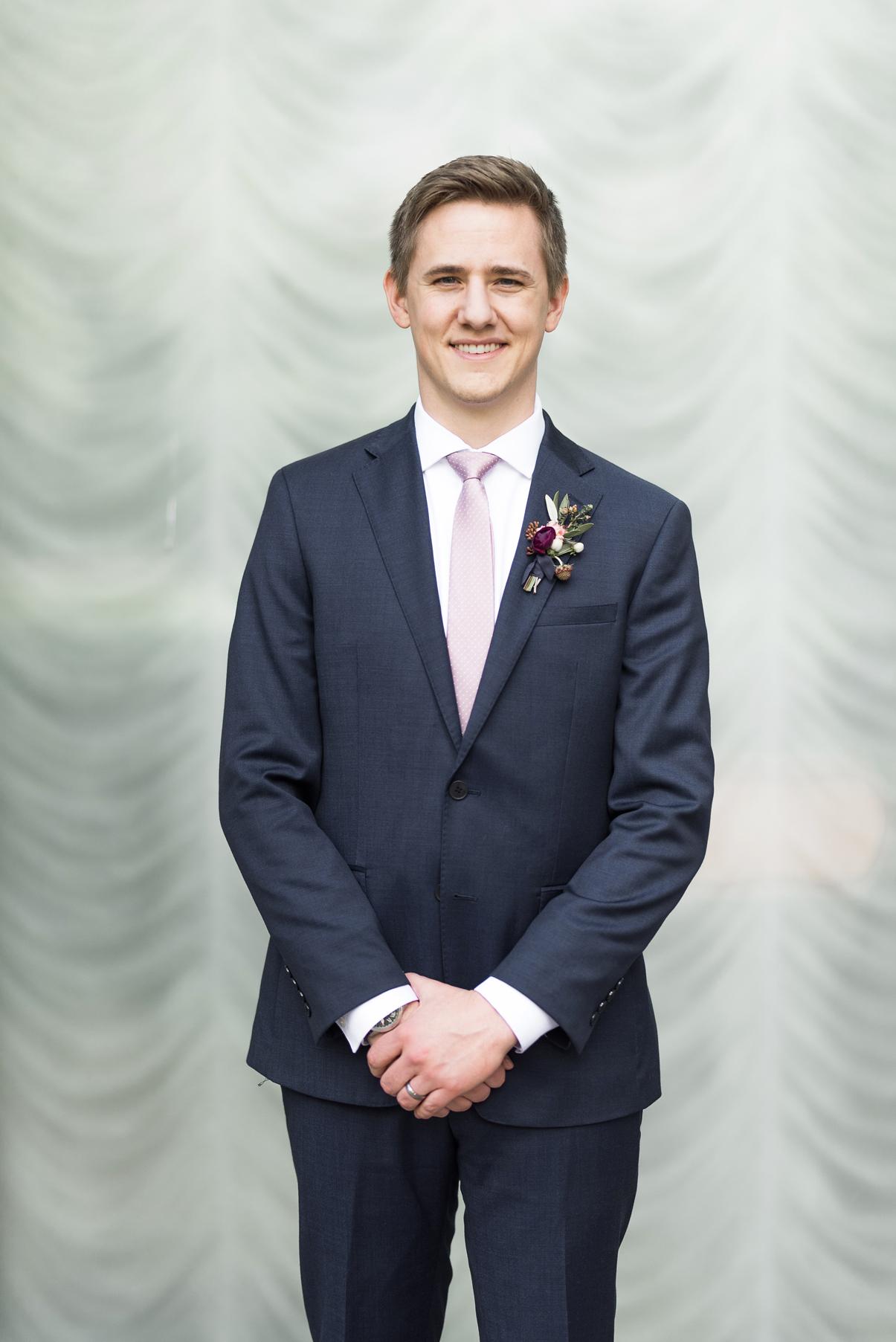 groom portrait salt lake city lds temple wedding