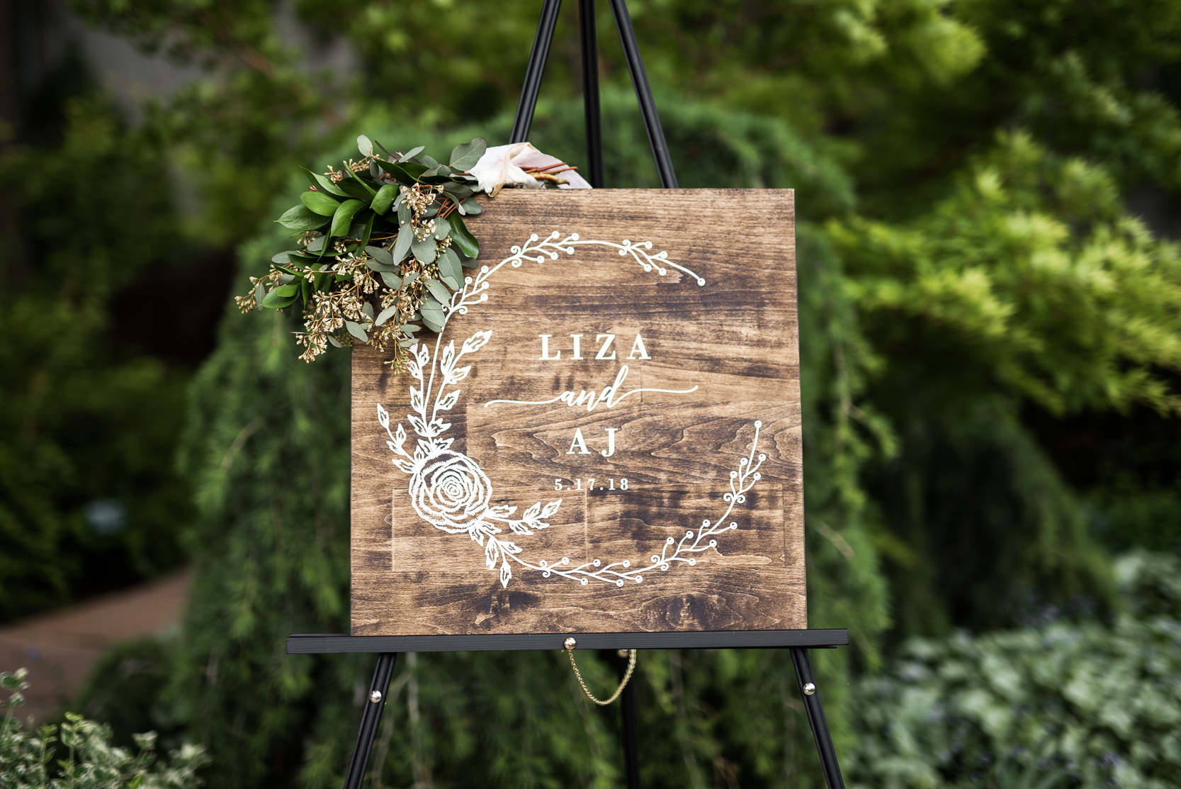 Welcome To Our Wedding Sign | Elisha Braithwaite Photography