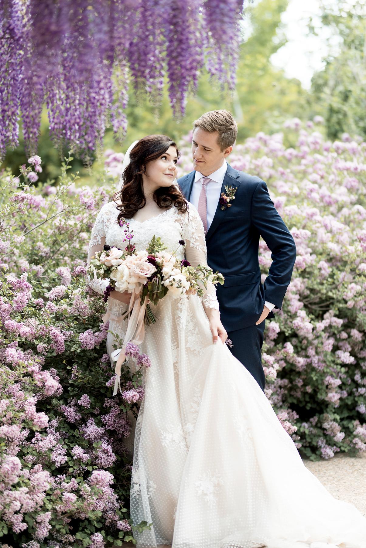 Spring Wedding at Red Butte Gardens | Elisha Braithwaite Photography