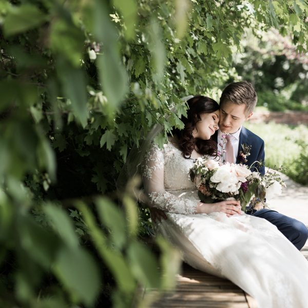 Liza and Aj's Garden Wedding at Red Butte Gardens
