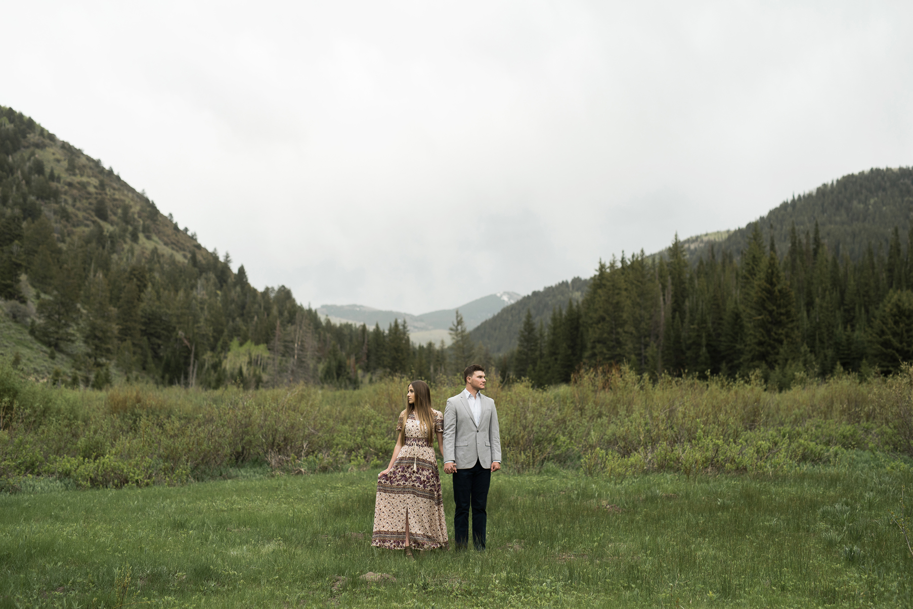bohemian engagements big cottonwood canyon utah