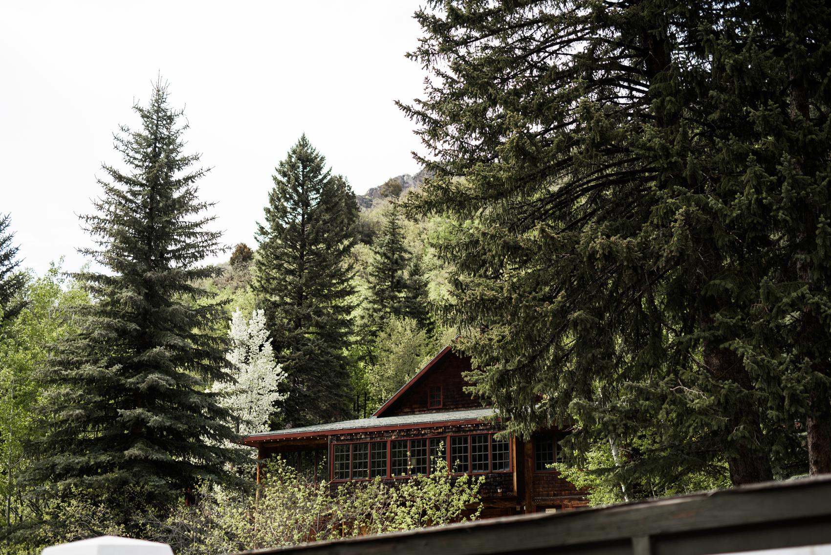 Wedding venue in Millcreek Canyon, Utah