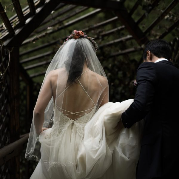 Minji and Paul's Millcreek Canyon Wedding at Log Haven