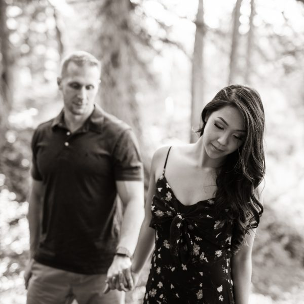 Karen and Ed's Engagement in Albion Basin