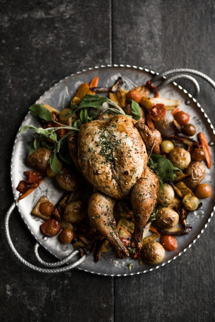 Rocky Mountain Bride Date Night - Oven Roasted Chicken