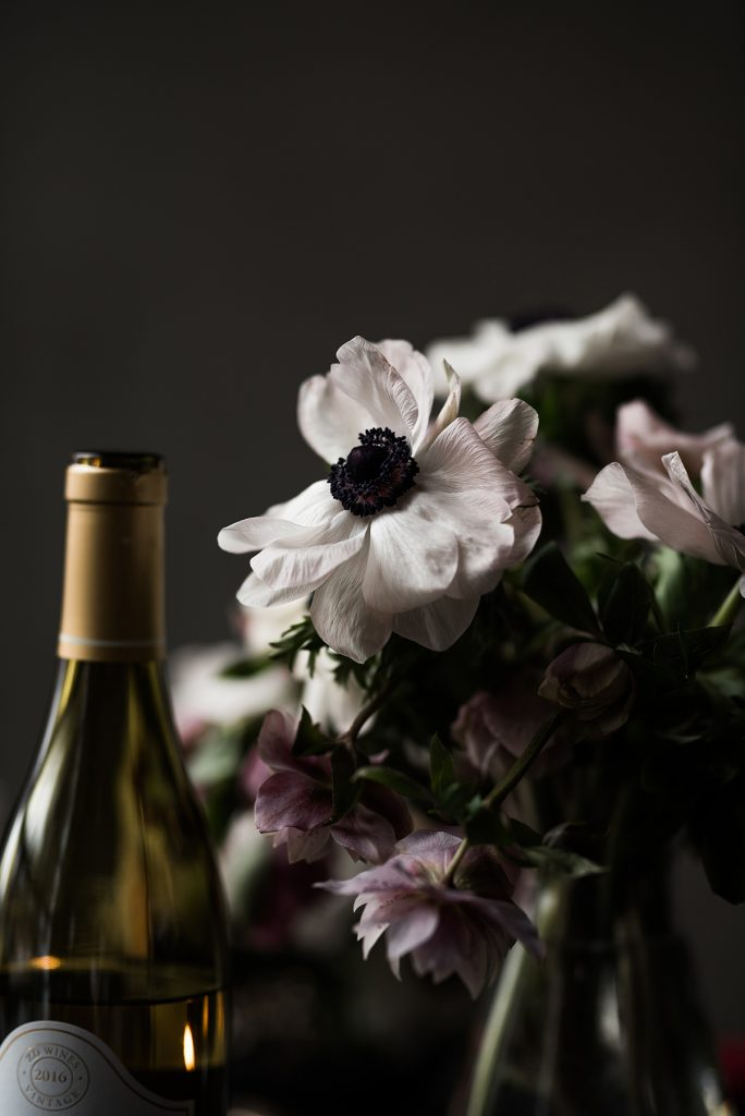 Rocky Mountain Bride Date Night - White Anenome