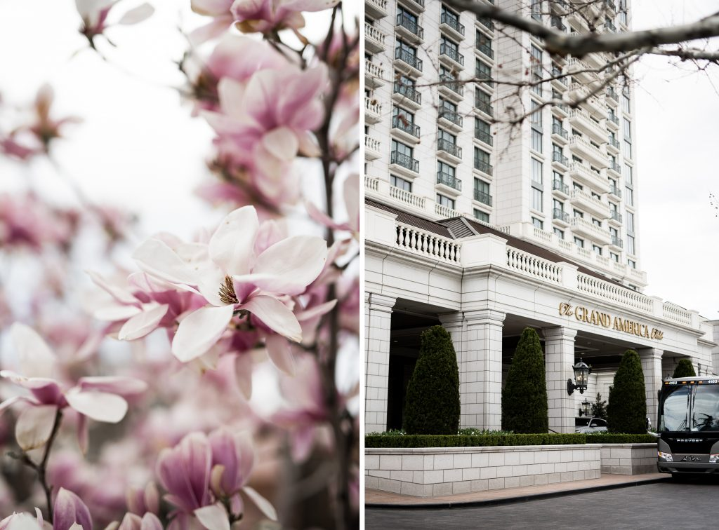 Spring Wedding at Grand America Hotel by Elisha Braithwaite Photography