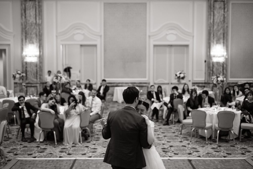 First Dance at Grand America Hotel by Elisha Braithwaite Photography