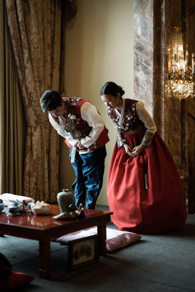 Korean Tea Ceremony at Grand America Hotel by Elisha Braithwaite Photography