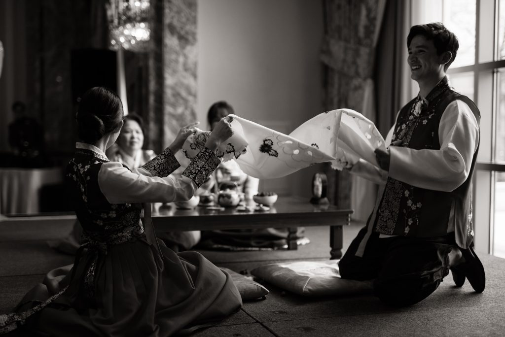 Korean Tea Ceremony at Grand America Hotel by Elisha Braithwaite Photography