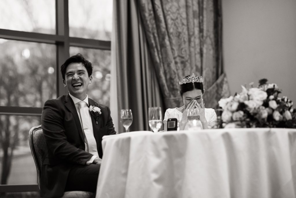 Emotional Toasts at Grand America Hotel by Elisha Braithwaite