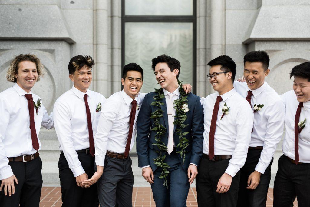 Classic Salt Lake City Temple Wedding by Elisha Braithwaite Photography