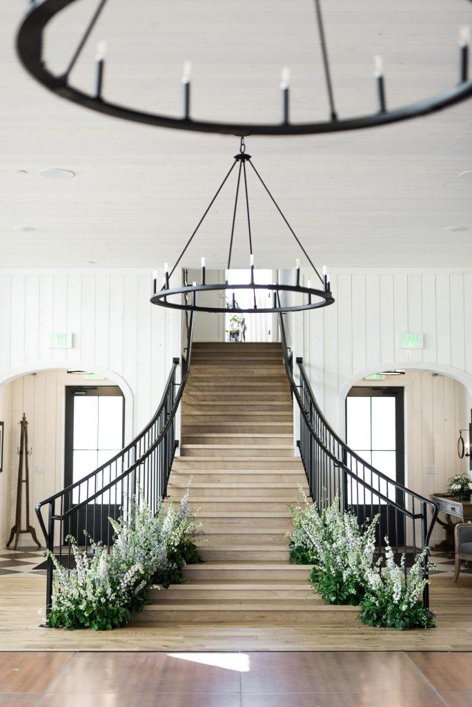 Indoor Floral Installation by Artisan Bloom