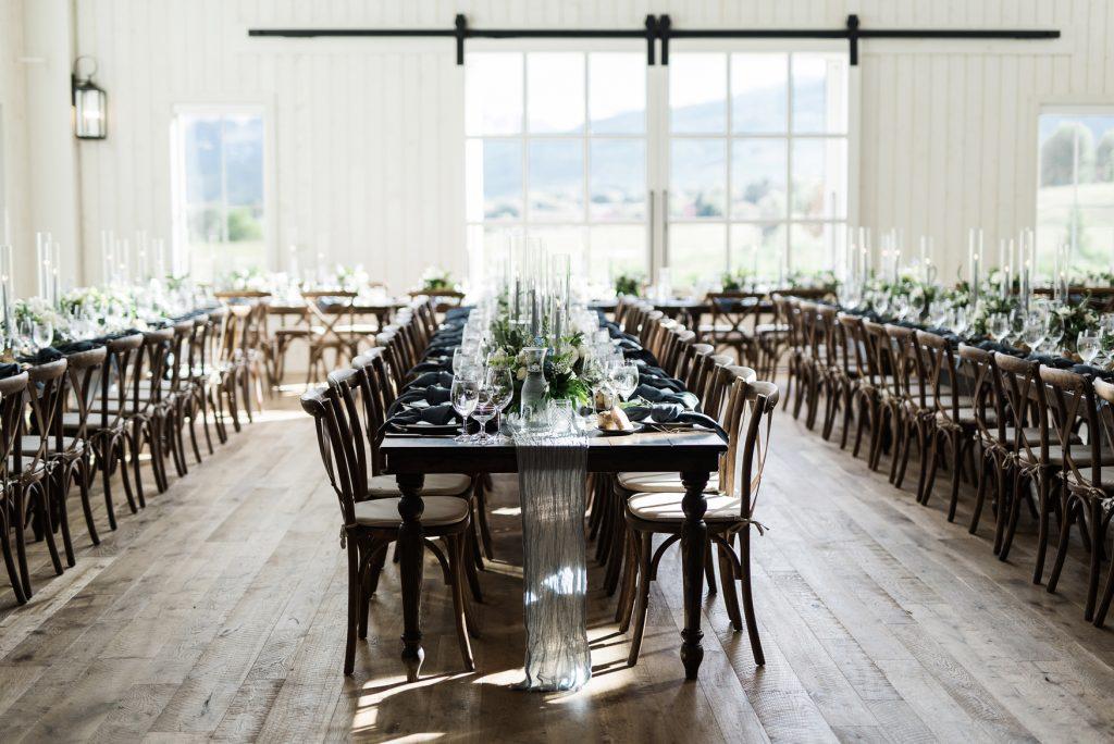 Wedding Reception at River Bottoms Ranch