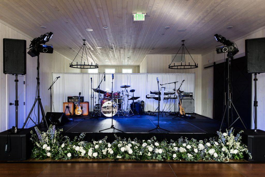Natural Wedding decor at River Bottoms Ranch