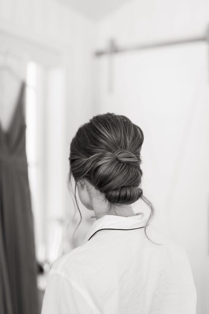 Elegant Bridal Updo by Lesley Lind