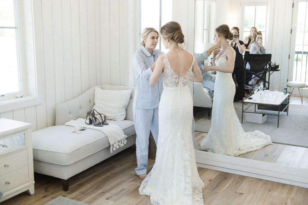 Bridal Room at River Bottoms Ranch