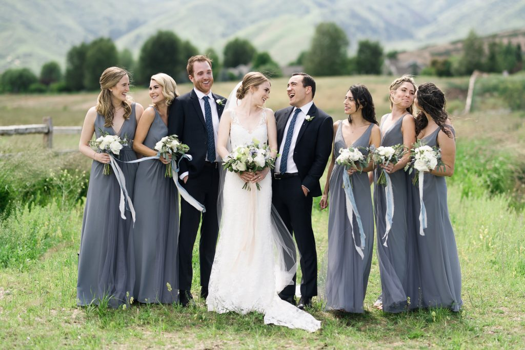 Wedding Party River Bottoms Ranch