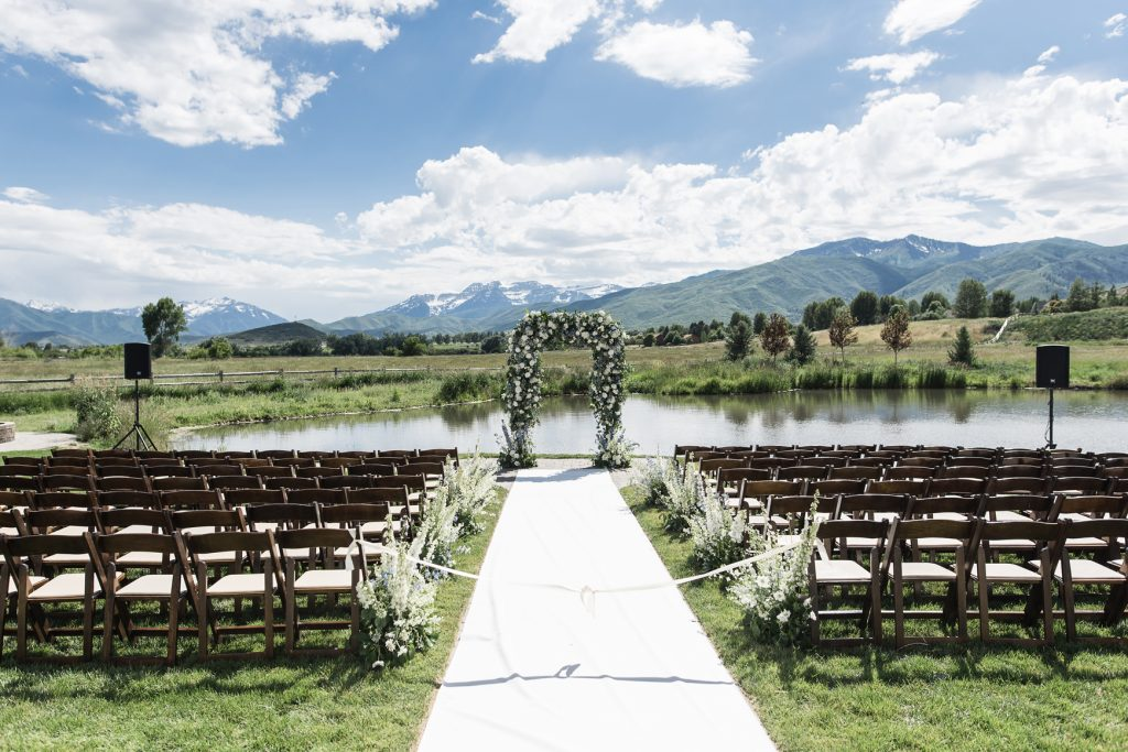 River Bottoms Ranch Wedding Ceremony