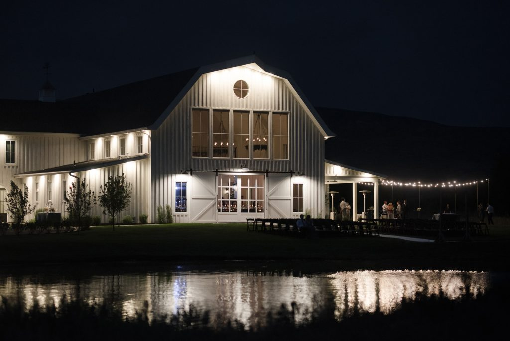 Summer wedding at River Bottoms Ranch