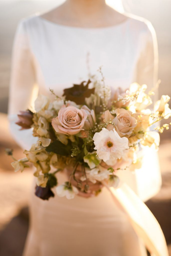 Beehive Floral bouquet in the desert