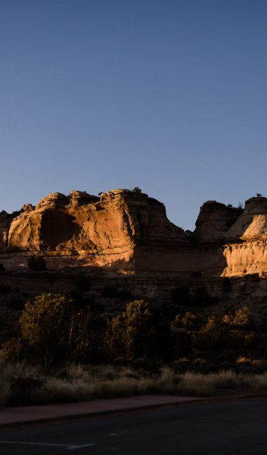 red rock at canyonlands national park
