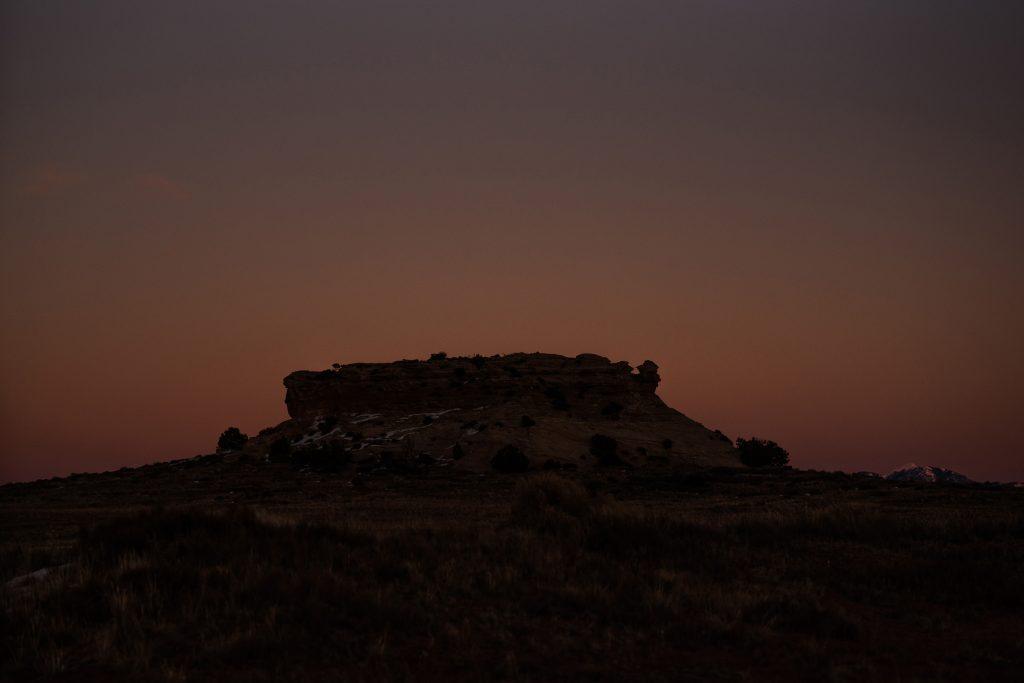 Canyonlands national park sunset
