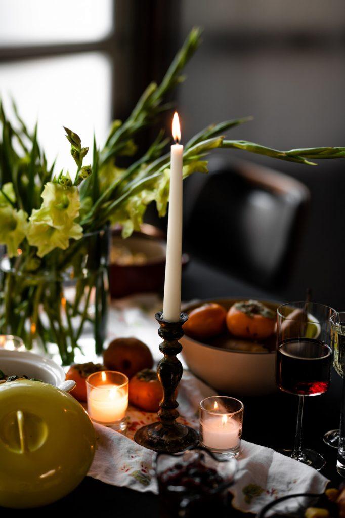 Candelit Thanksgiving