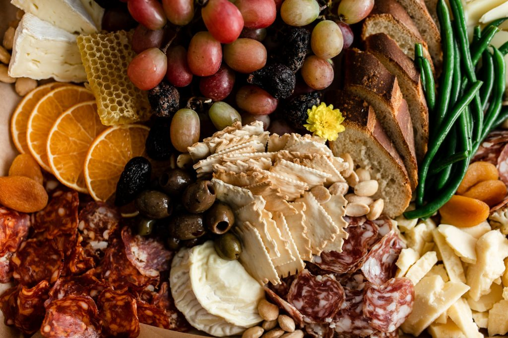 Thanksgiving charcuterie by The Blended Table